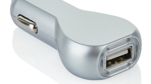 USB auto oplader