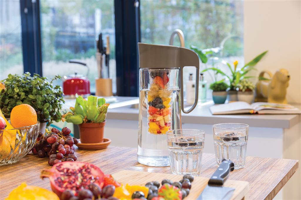 Fruit karaf met infuser
